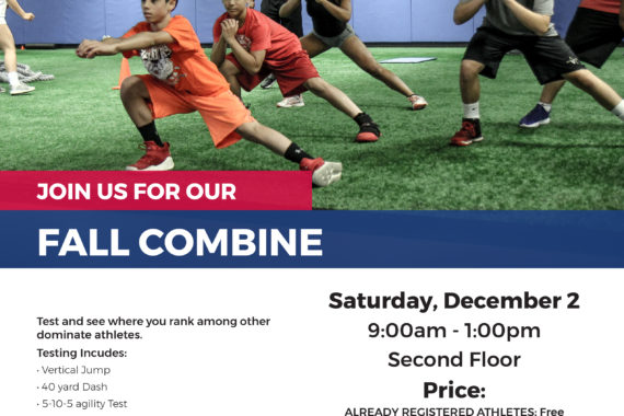 Fall Combine Saturday