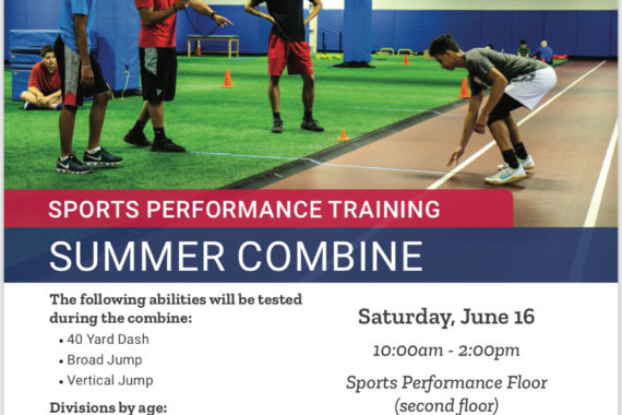 Summer Combine at HUMC Fitness and Wellness | Sports Performance